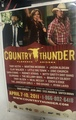 Country Thunder - Florence, AZ 2011 POSTER