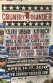 Country Thunder - Florence, AZ 2010 POSTER