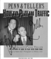 Autographs I got in their book How to Play in Traffic