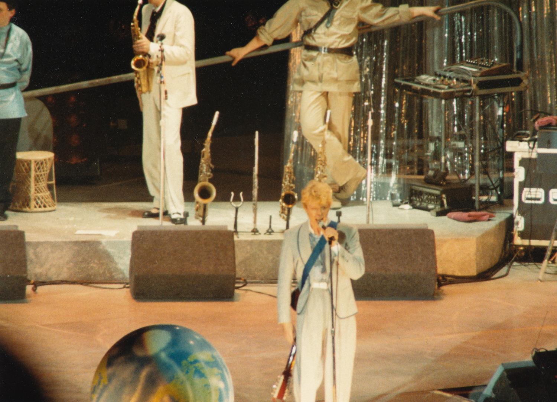 Serious Moonlight Tour David Bowie Wembley Arena